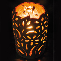 lampe-creuse-orange